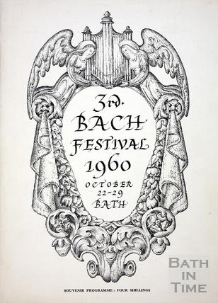 3rd Bach Festival October 22-29 1960