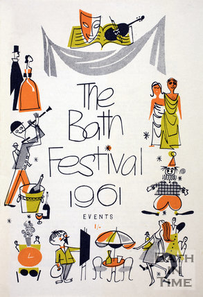 The Bath Festival Events booklet 1961