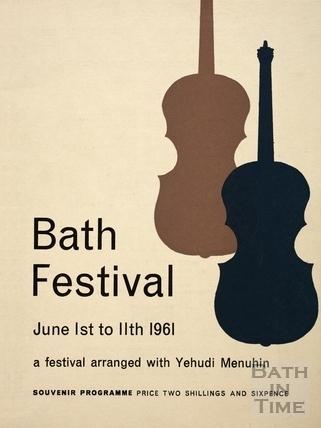 Bath Festival Souvenir Programme 1961