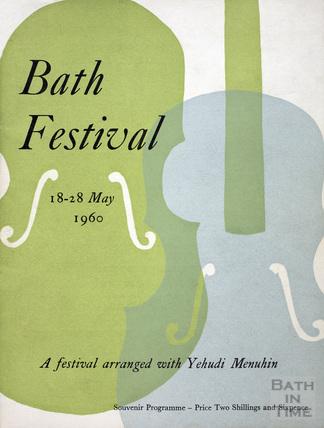 Bath Festival Souvenir Programme 18-28 May 1960