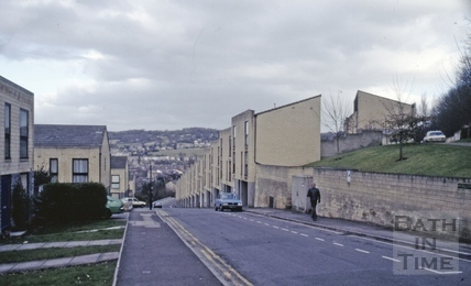 Holloway, south side looking towards Bath April 1988