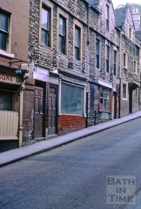 Nos 15, 17, 19 Holloway, Bath May 1963