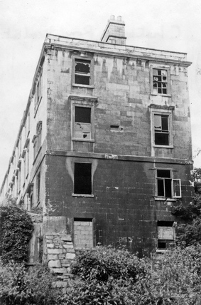 Chatham Row, east end (no 12) August 1967