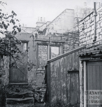 Rear of Holloway, early 1964