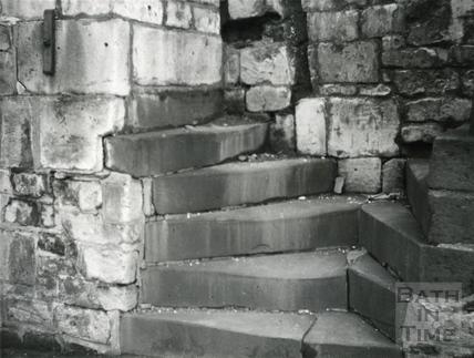 Holloway, Bath, twin steps c.1965