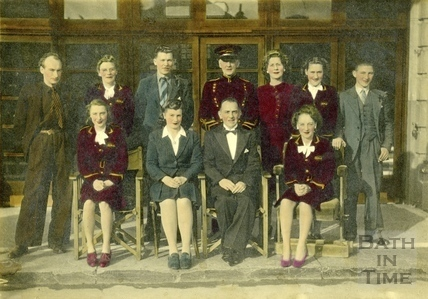 Group Portrait, staff at The Little Theatre c.1950