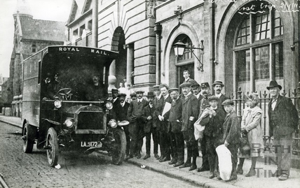 First Trip, Bath Post Office, 2 September 1911