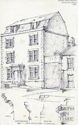Lower Bristol Road, Bath 25 Sep 1964