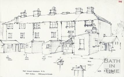 Lower Bristol Road, Bath 13 Oct 1964