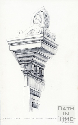 Manvers Street, Bath 26 November 1967