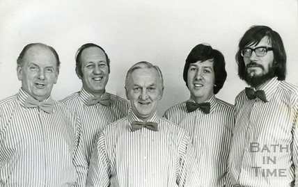 Five in a Box Harmony Group 9 February 1976