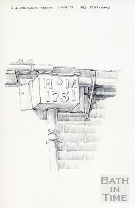 Monmouth Street, Bath 2 June 1972
