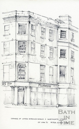 New Bond Street, Bath 25 January 1971