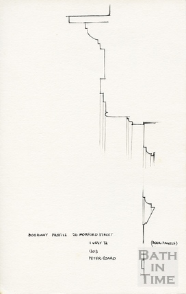 Morford Street, Bath 1 July 1972
