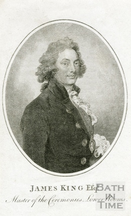 James King Esq., Master of the Ceremonies, Lower Rooms 1786