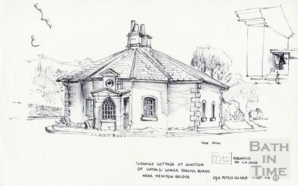 Twerton Fork Turnpike, Bath 11 September 1964