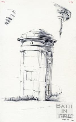 Norfolk Crescent, Bath 19 December 1964