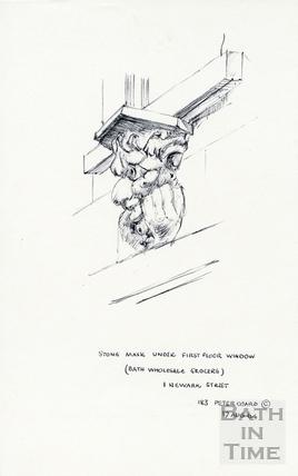 Newark Street, Bath 17 August 1964