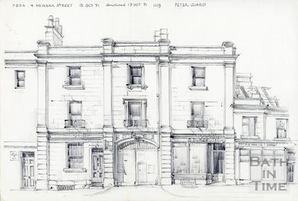 Newark Street, Bath 12 October 1971