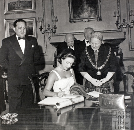 Princess Margaret at the Guildhall 1962