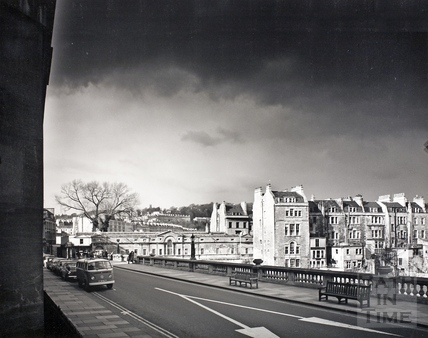 View of Pulteney Street from Grand Parade c.1975