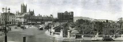 Terrace Walk and Parade Gardens c.1955