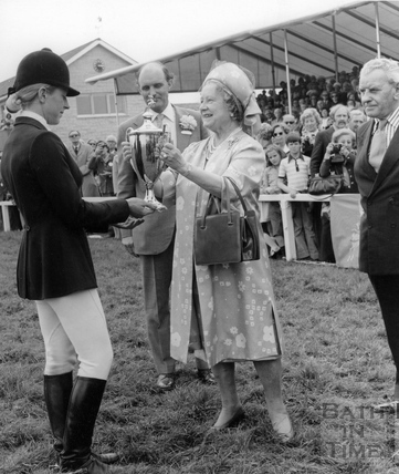 The Queen Mother at the Bath & West Show June 14th 1976