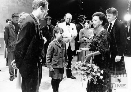 Princess Margaret at the Theatre Royal 26 March 1988