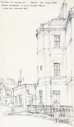 Portland Place, Bath 8 December 1968