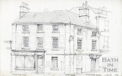 Prior Park Road, Bath 1 Dec 1975