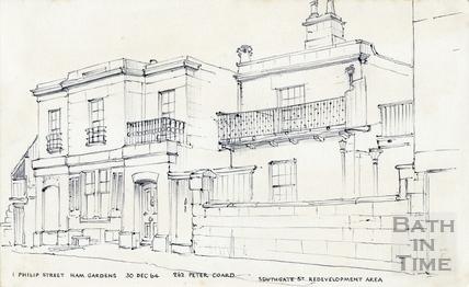 Philip Street, Bath 30 December 1964