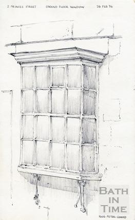 Princes Street, Bath 26 February 1976
