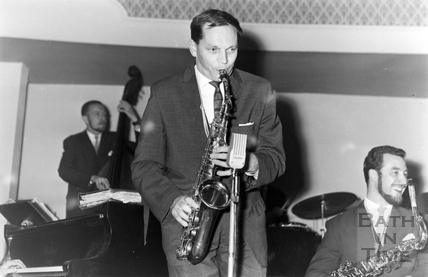 Johnny Dankworth at the Bath Festival 1958