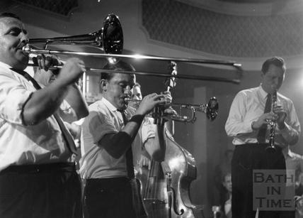 Jazz at the Regency Ballroom, mid 1960's.