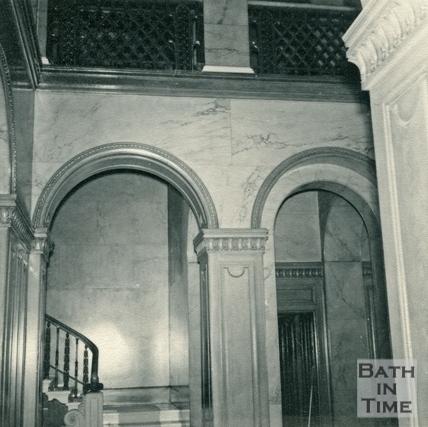 The entrance hallway, Wood House, Twerton c.1964