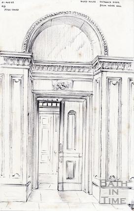 Wood House, Twerton 21 August 1965