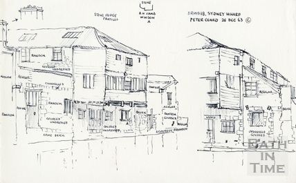 Sydney Road, Bath / Wharf / Buildings / Gardens 28 Dec 1963