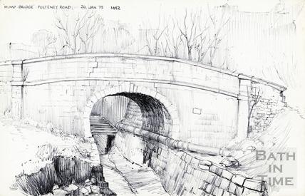 Pulteney Road, Bath 26-Jan-1975