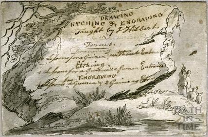 Trade Card for Mr J Hibbert c.1796
