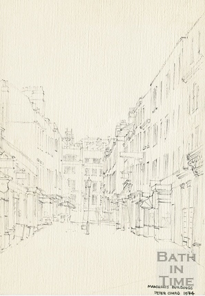 Margaret's Buildings, Bath June 1974