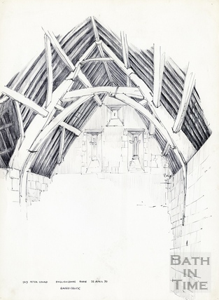 Englishcombe Barn 25 April 1970
