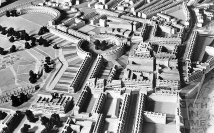 The Royal Crescent, Queen Square and Circus