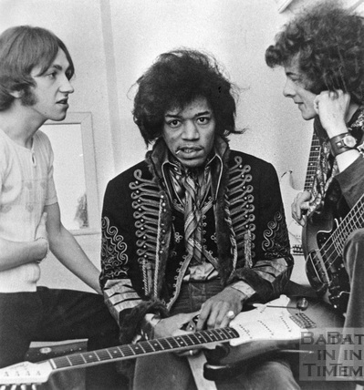 Jimi Hendrix at the Pavilion, Bath, 20 February 1967