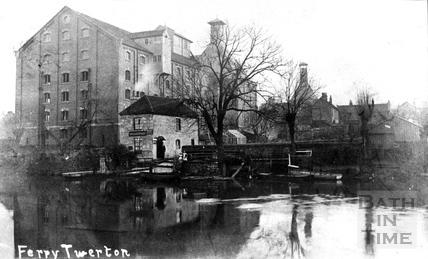The Ferry at Twerton c.1900