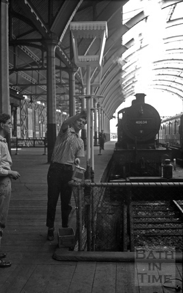 Green Park Station 9 June 1961