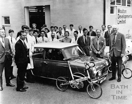 The production team at Moulton Development Limited, 1962