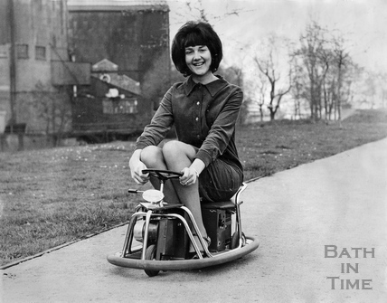 An electric 'Baby-Kart', the latest thing from Japan c.1963