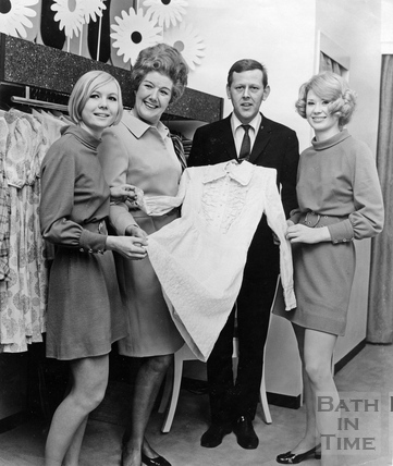 Staff at Colmers, the department store in Union Street, 1960s