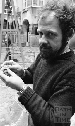 Professor Barry Cunliffe 12 Feb 1979