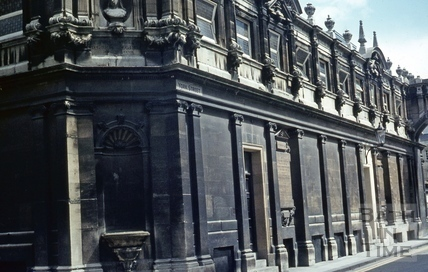 Pump Room, corner, corner of York Street and Stall Street, Bath May 1969